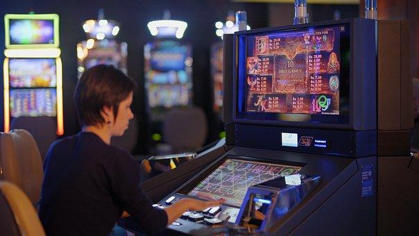 slot machine fan